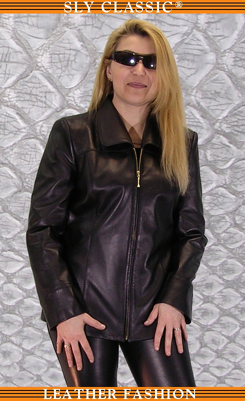 Női bőrzakó, bőrnadrág - Sly Classic Leather Fashion